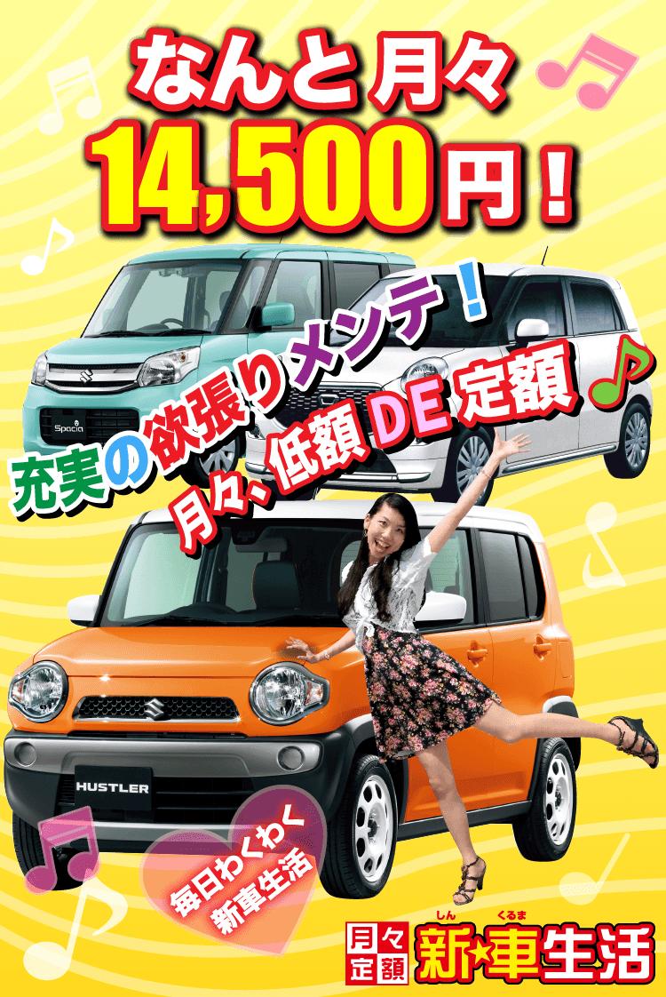 新☆車生活14500円プラン
